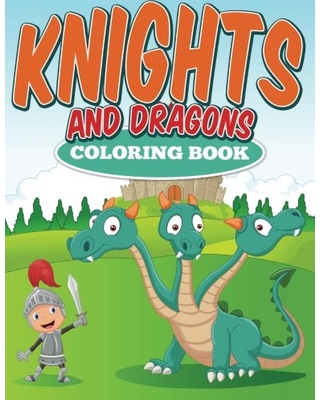 SPECTACULAR Deal on Knights and Dragons Coloring Book: N/A.