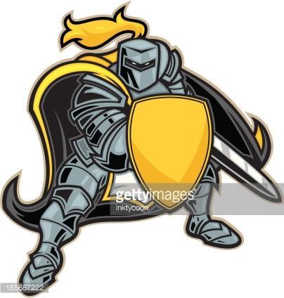 Knights Clipart Vector Art.