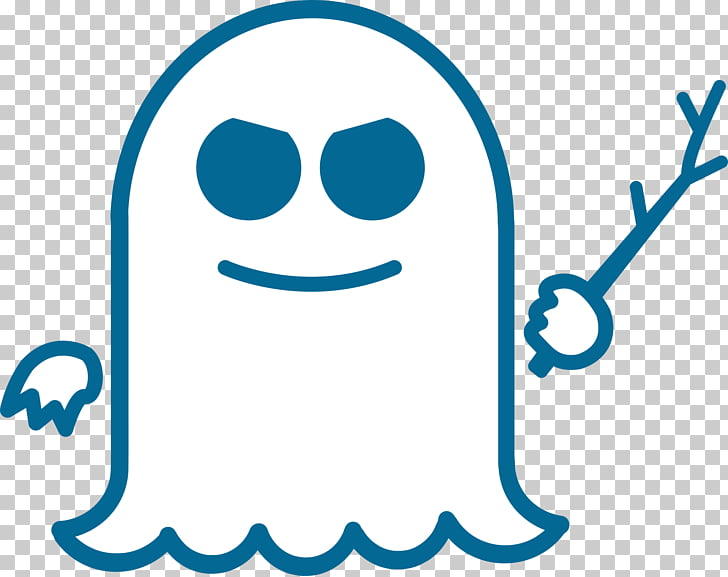 Spectre Logo, white ghost PNG clipart.