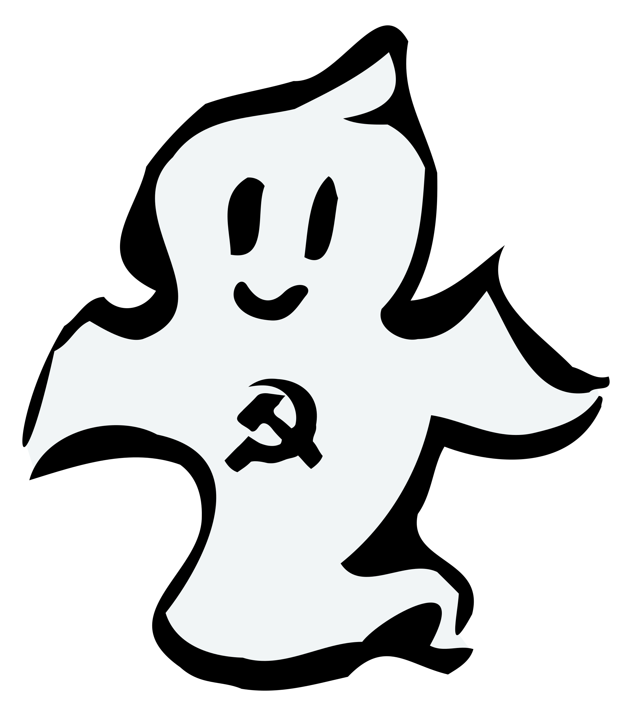 Ghost clipart spectre, Ghost spectre Transparent FREE for.