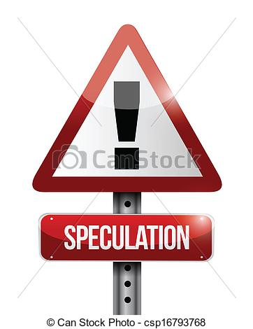 Speculation clipart.