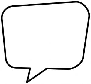 clipart conversation bubble - Clipground