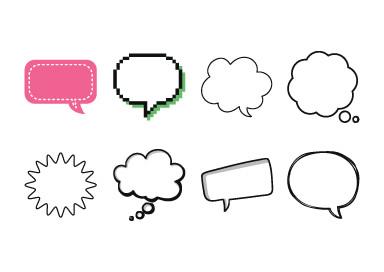 Speech Bubbles.