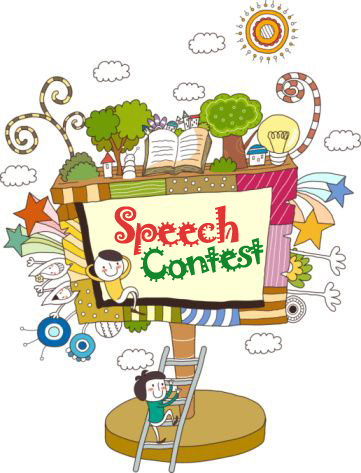 Speaking clipart speech competition Transparent pictures on.