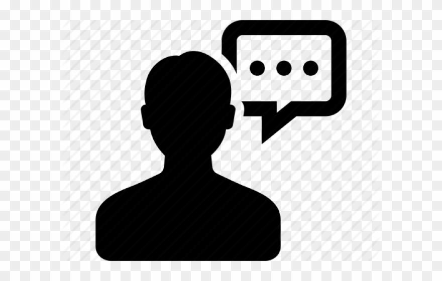 Person Icons Speech Bubble.
