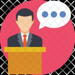 Speech Icon.