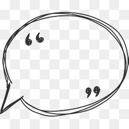 Hand Line Speech Bubble, Vector Png, Spe #42295.