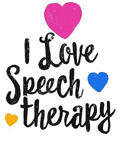 \'I Love Speech Therapy Shirt For SLP Language Pathologist\' Photographic  Print by 14th Floor Apparel.