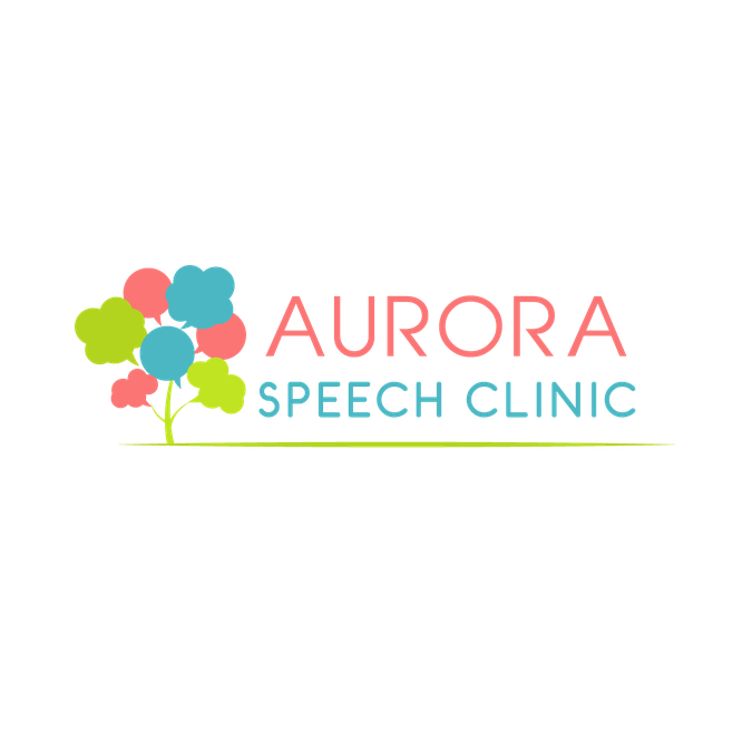 Design a whimsical logo for a speech therapy clinic.
