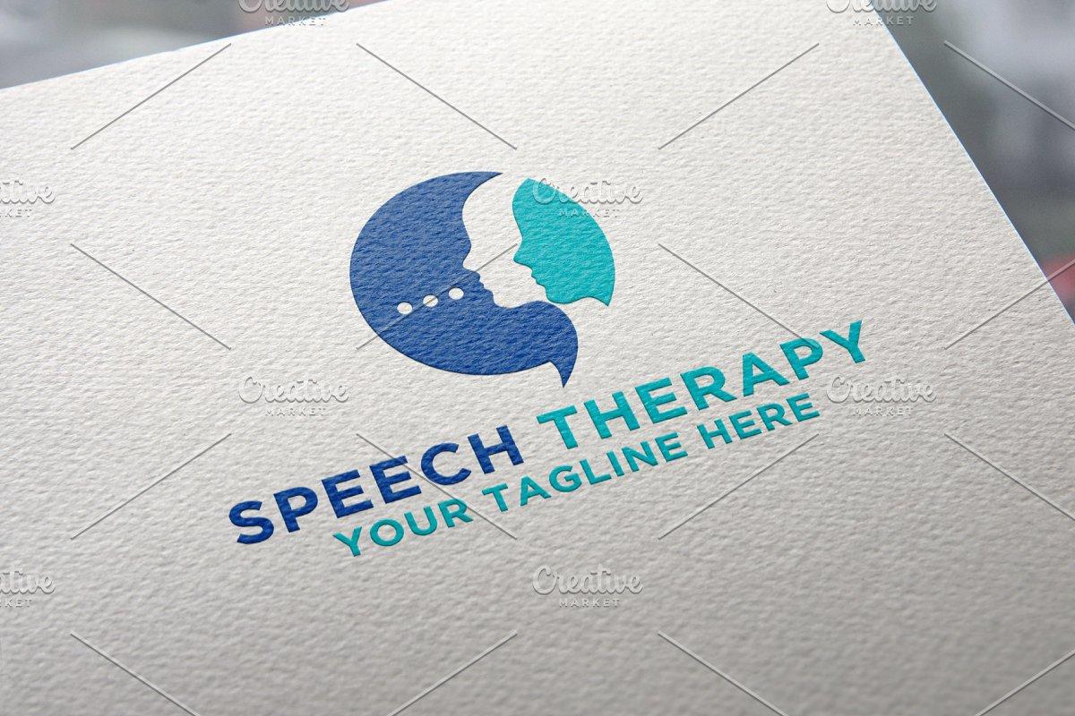 Speech Therapy Logo.