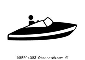 Speed Boat Clipart Royalty Free 4201 Clip Art Vector