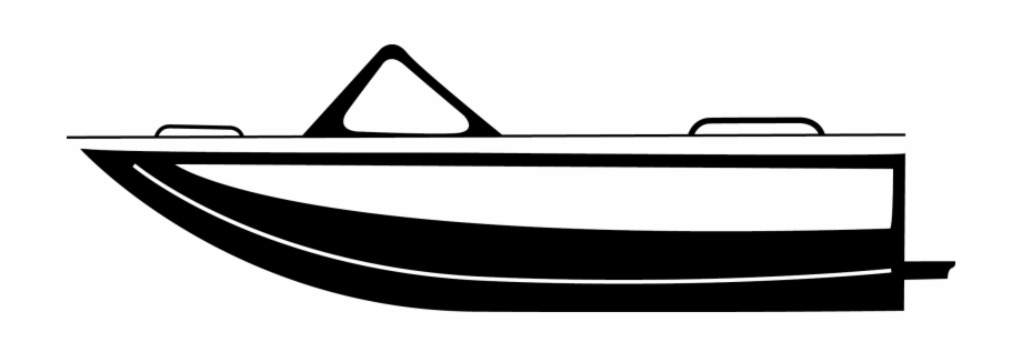 Image Speed Boat Clipart Black And White.