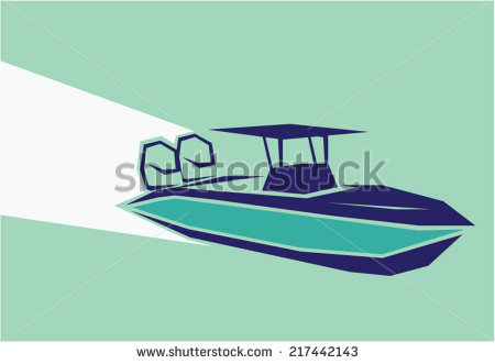 Speed Boat On Water Clipart Clipground