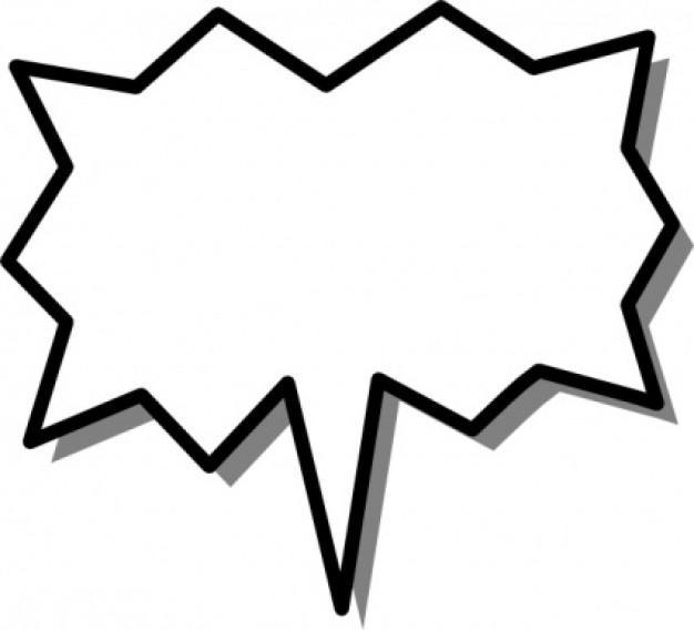Superhero Speech Bubble Clipart (67+).