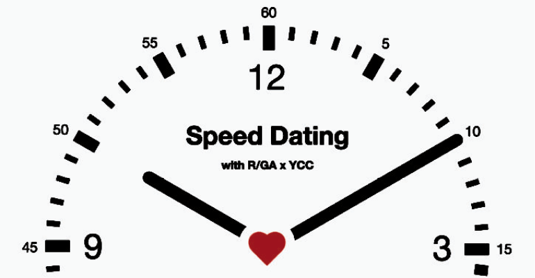 RGA x YCC Speed Dating.