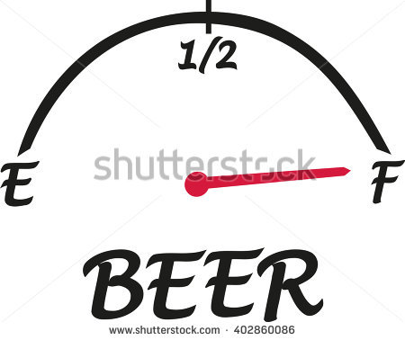 Beer Speed Indicator Stock Vector Illustration 402860086.