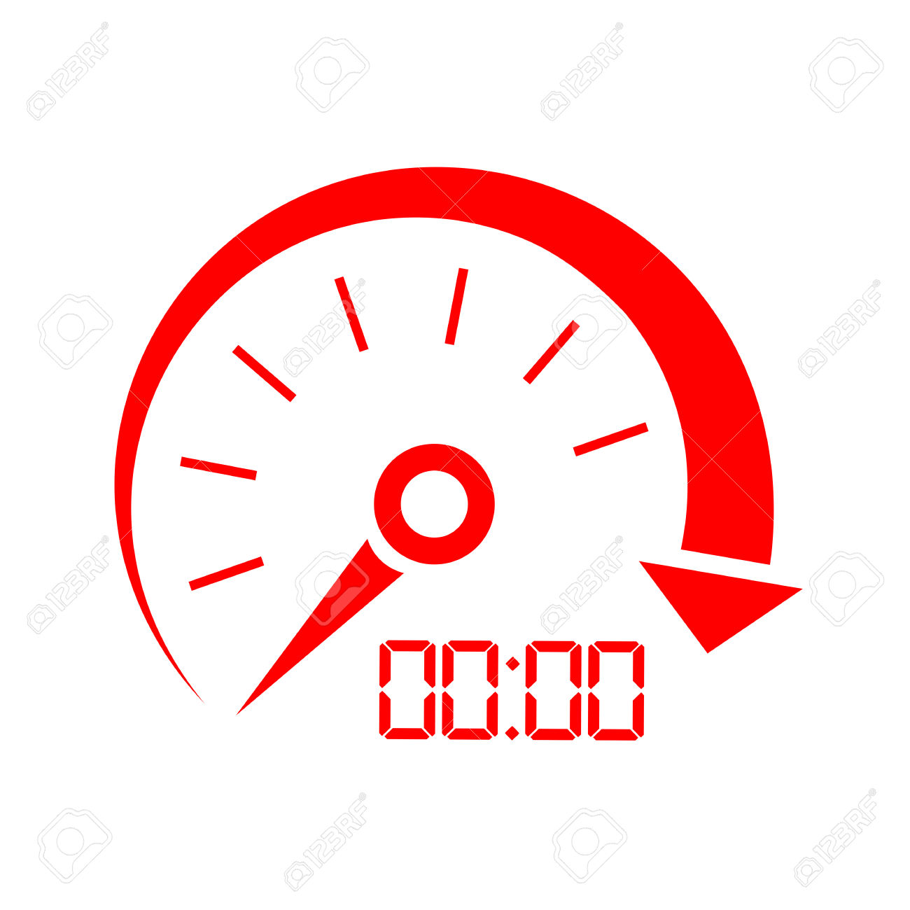 Speed Indicator Icon Royalty Free Cliparts, Vectors, And Stock.