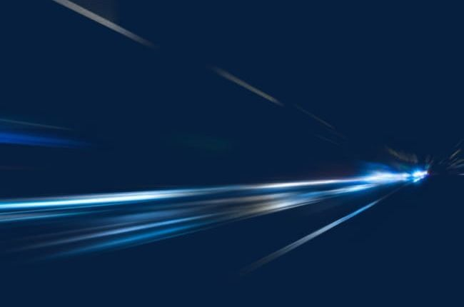 Blue Light Speed Straight Line PNG, Clipart, Blue, Blue.