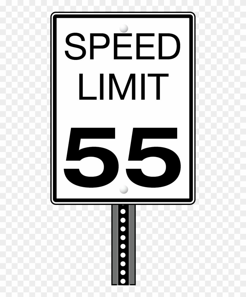 50 Speed Limit Sign ⋆.