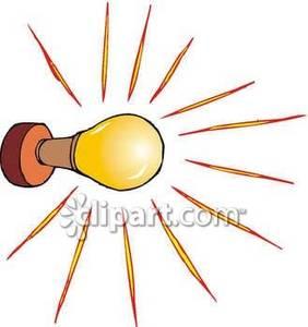 Bulb Wall Light.