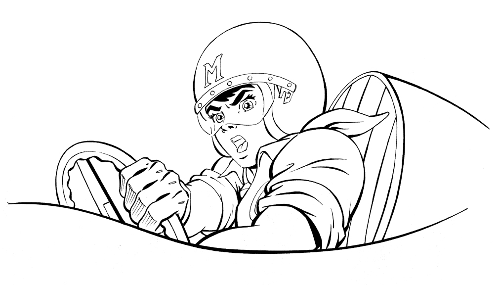 Clipart library: More Artists Like Speed Racer: Back Line.