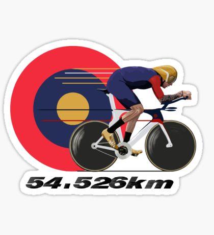 World Speed Record: Stickers.
