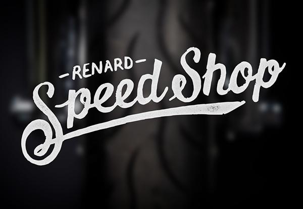 Renard Speed Shop Logo on Behance.