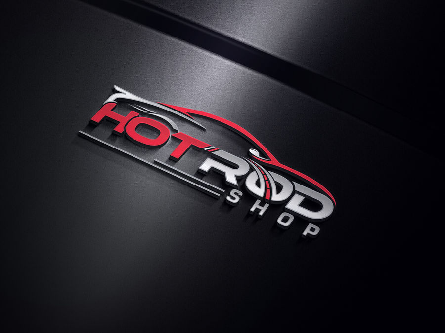 Entry #152 by imranhassan998 for Hot Rod Speed Shop Logo.