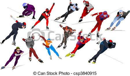 Speed skating Illustrations and Clipart. 3,398 Speed skating.