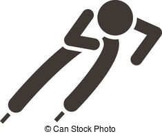 Short track speed skating Vector Clipart EPS Images. 133 Short.