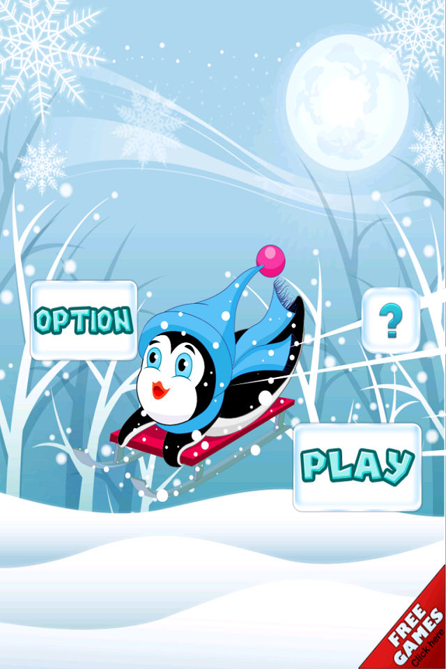 Snow day fast penguin racing club speed slide ice crazy Pro by www.
