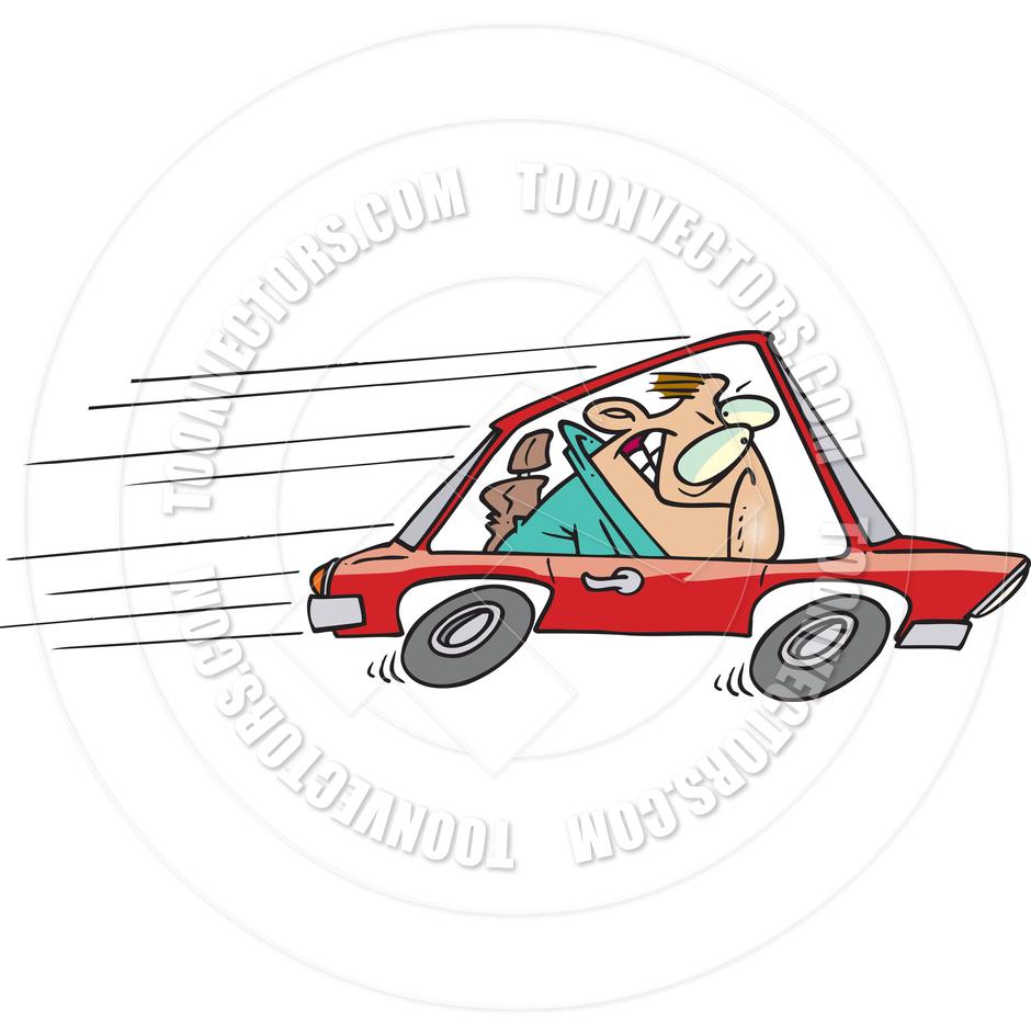 Cartoon Speeder by Ron Leishman.