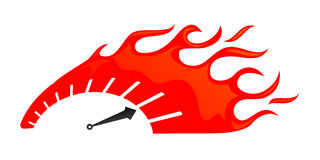 Speed gauge clipart.