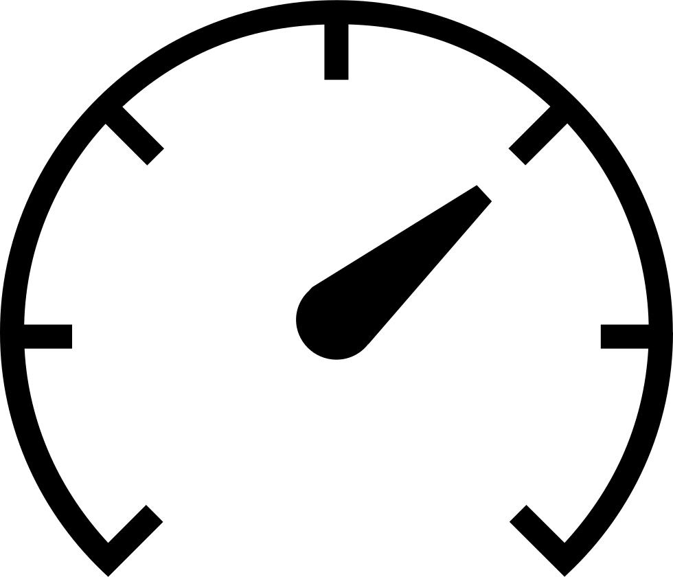 Fast Clipart Speedometer.