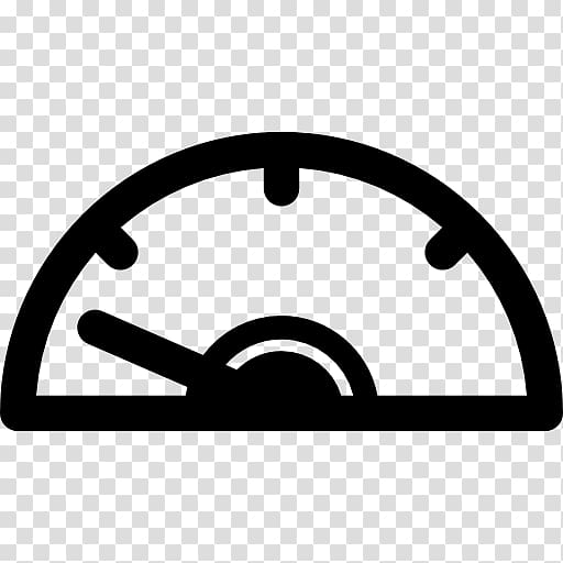 Computer Icons Car Speedometer , slow transparent background.