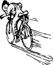 Speedway Bike Clip Art, Vector Speedway Bike.
