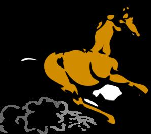 Speedy Horse Clip Art at Clker.com.