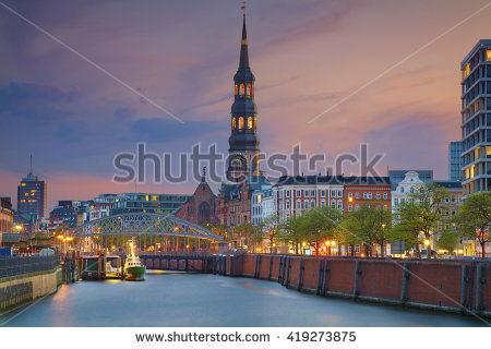 Hamburg Stock Photos, Royalty.