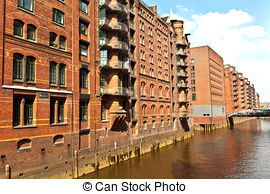Picture of hamburg speicherstadt.