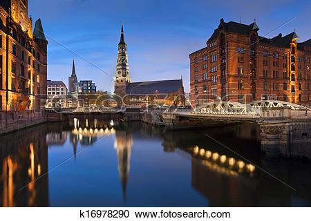 Stock Photography of Hamburg.