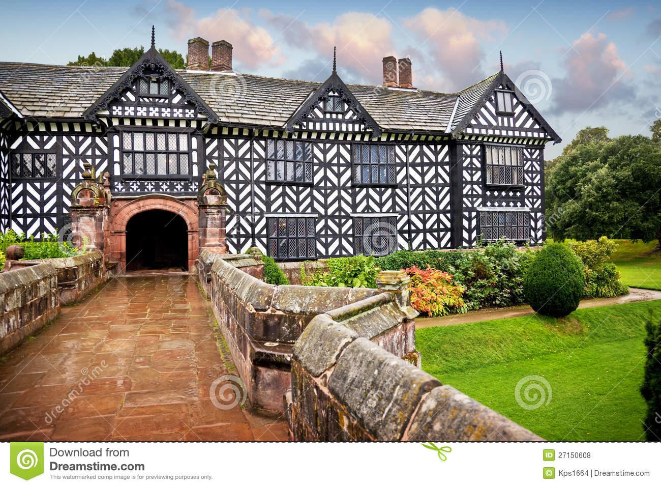 Tudor Manor House Royalty Free Stock Photos.