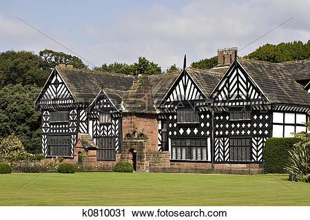 Stock Photography of Tudor House k0810031.