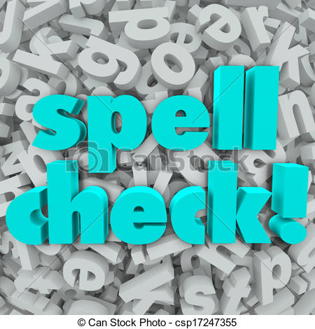 Check spelling Clipart and Stock Illustrations. 135 Check spelling.