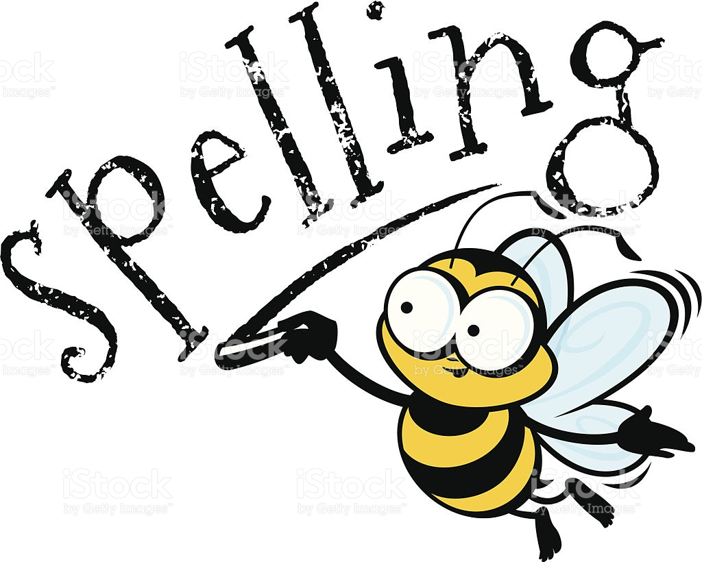 Bumblebee clipart spelling bee pencil and in color bumblebee.
