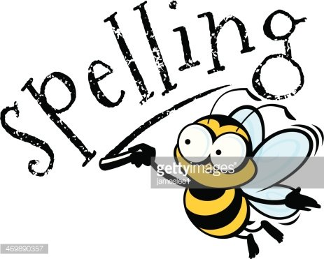 Spelling Bee Clipart Image.