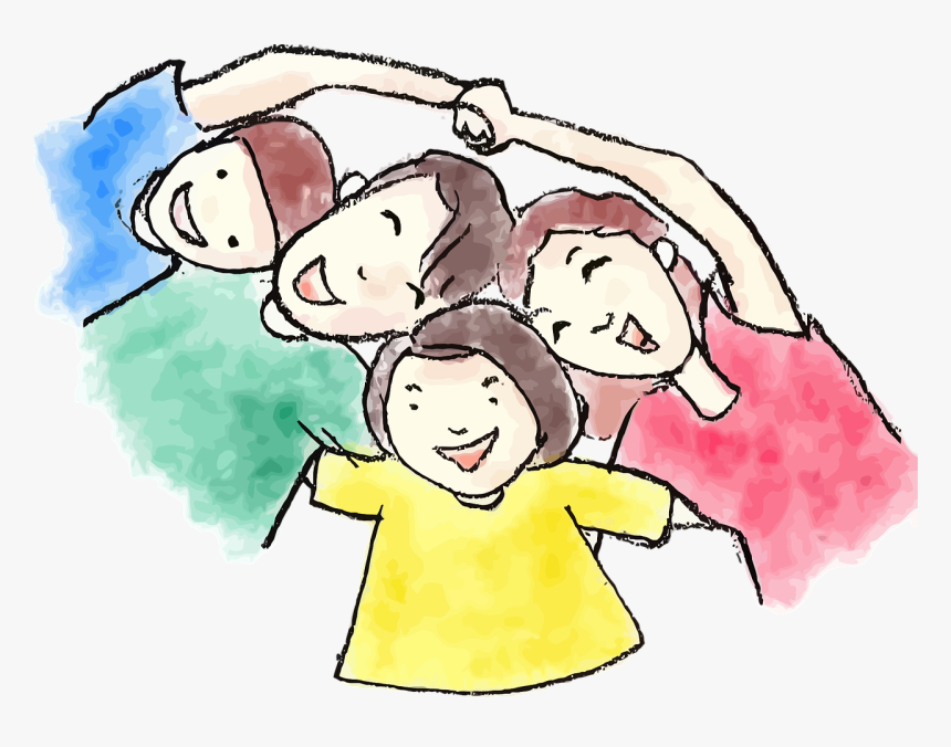 Spending Time With Family Clipart, HD Png Download.