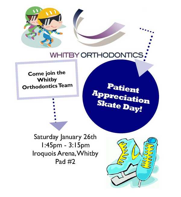 Patient Appreciation Skate Day THIS Saturday!.