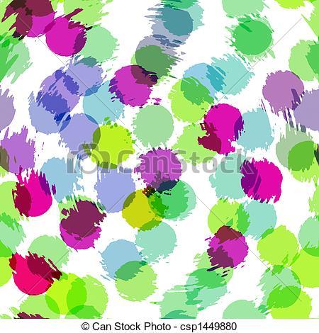 Stock Illustration of spetter pattern.