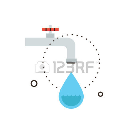 3,433 Leaking Water Stock Vector Illustration And Royalty Free.