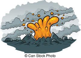 Stock Illustrations of Cartoon Volcano.